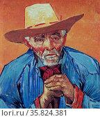 Vincent Van Gogh 'Farmer portrait'. Редакционное фото, агентство World History Archive / Фотобанк Лори