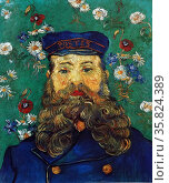 Vincent Van Gogh 'Portrait of the postman Joseph Roulin'. Редакционное фото, агентство World History Archive / Фотобанк Лори