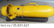 Prop from a James Bond Movie, Underwater Tow Sled, from 'Never Say Never Again' 1983. Редакционное фото, агентство World History Archive / Фотобанк Лори