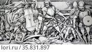 Carlos V. Francisco, The Battle of Mactan, 1964, Watercolor. Редакционное фото, агентство World History Archive / Фотобанк Лори