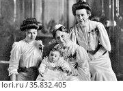 Grand Duchess Luise of Baden. Редакционное фото, агентство World History Archive / Фотобанк Лори