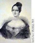 Helene Luise Elisabeth of Mecklenberg-Schwerin. Редакционное фото, агентство World History Archive / Фотобанк Лори