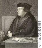 Thomas Cromwell. Редакционное фото, агентство World History Archive / Фотобанк Лори