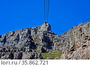 Tafelberg, Seilbahn, Südafrika, Cableway up to Table Mountain, South... Стоковое фото, фотограф Zoonar.com/W. Woyke / age Fotostock / Фотобанк Лори