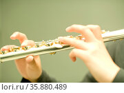 Flute. Стоковое фото, агентство Ingram Publishing / Фотобанк Лори