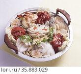Korean Food Soup. Стоковое фото, агентство Ingram Publishing / Фотобанк Лори