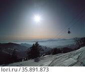 Ski mountain. Стоковое фото, агентство Ingram Publishing / Фотобанк Лори