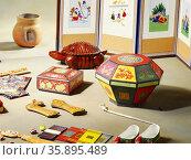 Korean Traditional Tool. Стоковое фото, агентство Ingram Publishing / Фотобанк Лори