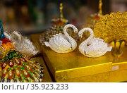 Tourist souvenirs for sale in Batumi, Georgia. Редакционное фото, фотограф Яков Филимонов / Фотобанк Лори