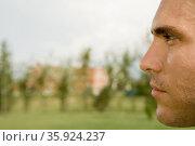 Pensive man. Стоковое фото, фотограф Shannon Fagan / Ingram Publishing / Фотобанк Лори