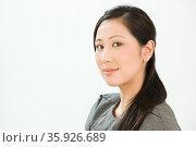 Portrait of a Chinese business woman. Стоковое фото, фотограф Shannon Fagan / Ingram Publishing / Фотобанк Лори