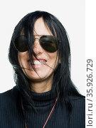 Portrait of a mature adult woman. Стоковое фото, фотограф Shannon Fagan / Ingram Publishing / Фотобанк Лори