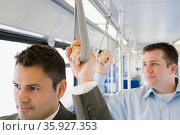 Commuters. Стоковое фото, фотограф Shannon Fagan / Ingram Publishing / Фотобанк Лори