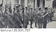the army uprising which marked the beginning of the Spanish Civil War. Редакционное фото, агентство World History Archive / Фотобанк Лори
