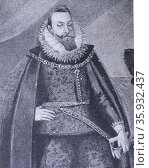Sigismund III Vasa (1566 – 1632) King of Poland and Grand Duke of Lithuania 1587 to 1632. King of Sweden. Редакционное фото, агентство World History Archive / Фотобанк Лори