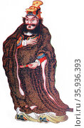 Illustration of Ming Dynasty founder Hu Ta Hai. Редакционное фото, агентство World History Archive / Фотобанк Лори