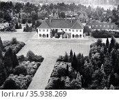 Windlesham Moor, Princess Elizabeth's Country Home. Редакционное фото, агентство World History Archive / Фотобанк Лори