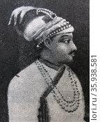 Portrait of Siraj ud-Daulah. Редакционное фото, агентство World History Archive / Фотобанк Лори