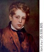 Lord Byron, English poet as a boy. Редакционное фото, агентство World History Archive / Фотобанк Лори