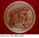 Portrait of Dante Alighieri (2016 год). Редакционное фото, агентство World History Archive / Фотобанк Лори