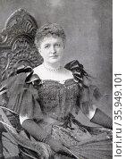 Photographic portrait of Constance Cary Harrison. Редакционное фото, агентство World History Archive / Фотобанк Лори