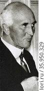 John Simon, 1st Viscount Simon; (1873 – 1954) British politician. Редакционное фото, агентство World History Archive / Фотобанк Лори