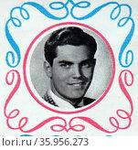 Photograph of Jeffrey Hunter. Редакционное фото, агентство World History Archive / Фотобанк Лори