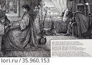 Illustration by George du Maurier. Редакционное фото, агентство World History Archive / Фотобанк Лори