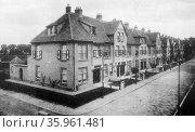 Homes of Patrimonium Housing Association workers in Amsterdam. Редакционное фото, агентство World History Archive / Фотобанк Лори