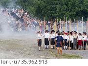 Фестиваль исторической реконструкции. (2012 год). Редакционное фото, фотограф Илья Галахов / Фотобанк Лори
