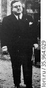 Pedro Sainz Carlos Rodríguez, Spanish politician. Редакционное фото, агентство World History Archive / Фотобанк Лори