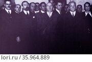 Fernando de los Ríos , Spanish republican politician. Редакционное фото, агентство World History Archive / Фотобанк Лори