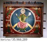 Canopy Tavèrnoles from the ancient monastery of St. Sernin, Tavèrnoles. Редакционное фото, агентство World History Archive / Фотобанк Лори