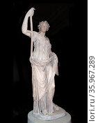 Thalia, the muse of Comedy. Roman, 2nd century AD. Редакционное фото, агентство World History Archive / Фотобанк Лори