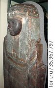 Outer coffin of Padimut. Редакционное фото, агентство World History Archive / Фотобанк Лори