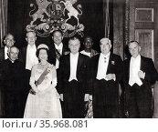 commonwealth leaders meet in London 1960. Редакционное фото, агентство World History Archive / Фотобанк Лори