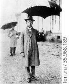 Crown Price Hirohito (later emperor) of Japan 1922. Редакционное фото, агентство World History Archive / Фотобанк Лори