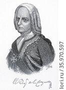 Don Pedro de Castro y Figueroa, 1st Duke of la Conquista. Редакционное фото, агентство World History Archive / Фотобанк Лори