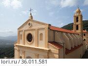 Church of Santa Maria Assunta of Olmeto (2018 год). Стоковое фото, фотограф EugeneSergeev / Фотобанк Лори