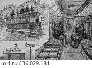 The new electric tramcar from kew bridge in england, 'world illustrious... (2009 год). Редакционное фото, фотограф Louis Bertrand / age Fotostock / Фотобанк Лори