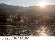 """Croatia, Lovran - Lovran at the Adriatic Sea (Kvarner Bay)"" (2016 год). Редакционное фото, агентство Caro Photoagency / Фотобанк Лори"