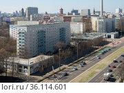 """Berlin, Germany, Mitte - City view of City East"" Редакционное фото, агентство Caro Photoagency / Фотобанк Лори"