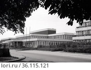 """""""Berlin, GDR, Dr.-Georg-Benjamin secondary school for the physically handicapped in Paul-Junius-Strasse"""" (1985 год). Редакционное фото, агентство Caro Photoagency / Фотобанк Лори"""
