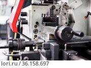 CNC Lathe and Milling Machine. High quality photo. Стоковое фото, фотограф Zoonar.com/DAVID HERRAEZ CALZADA / easy Fotostock / Фотобанк Лори
