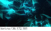 Image of detailed plexus structure 4k. Стоковое фото, агентство Wavebreak Media / Фотобанк Лори
