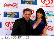 Michael Mack mit Ehefrau Miriam (Europapark Rust) beim Radio Regenbogen... Стоковое фото, фотограф Zoonar.com/Joachim Hahne / age Fotostock / Фотобанк Лори