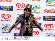 Europapark Clown Charly beim Radio Regenbogen Award Rust 2019. Стоковое фото, фотограф Zoonar.com/Joachim Hahne / age Fotostock / Фотобанк Лори