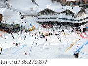 Wintersportwelt Feldberg mit Seebuck. Стоковое фото, фотограф Zoonar.com/Joachim Hahne / age Fotostock / Фотобанк Лори