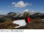 Gipfel, berg, berge, königsleiten, salzachtal, salzach,gebirgstal... Стоковое фото, фотограф Zoonar.com/Volker Rauch / easy Fotostock / Фотобанк Лори