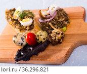 Image of Shiitake Mushroom Pate. Стоковое фото, фотограф Яков Филимонов / Фотобанк Лори